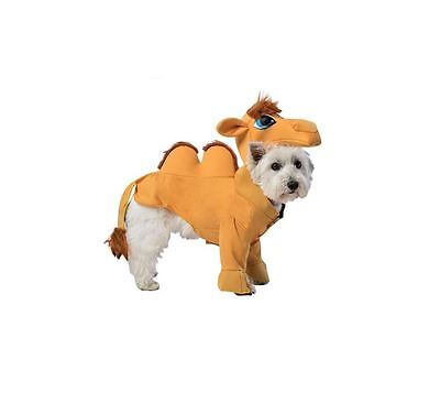 New Novelty Funny Joke Camel Pet Dog Animal Dress Up Fancy Dress Costume Outfit