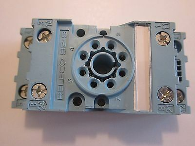 NEW RELECO S2-S RELAY SOCKET 10A/380V 8 PINS LOTS MORE Listed