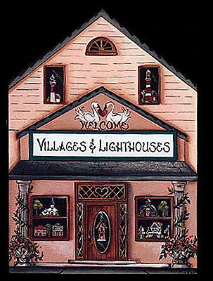 Brandywine Collectible Houses & Shops: VILLAGES & LIGHTHOUSES - Shelf Sitter