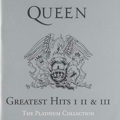 Queen : Greatest Hits I, II & III - The Platinum Collection (3CD) CD