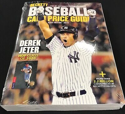 2017 Beckett Baseball Card Annual Value Price Guide ~ 39th Edition ~ New!