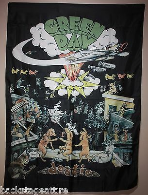 "Green Day Dookie CD Cover 30""X40"" Cloth Fabric Poster Flag Tapestry Banner-New!"