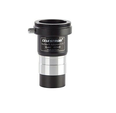"""Celestron 1.25"""" Universal Barlow Lens and T-Adapter 93640"""