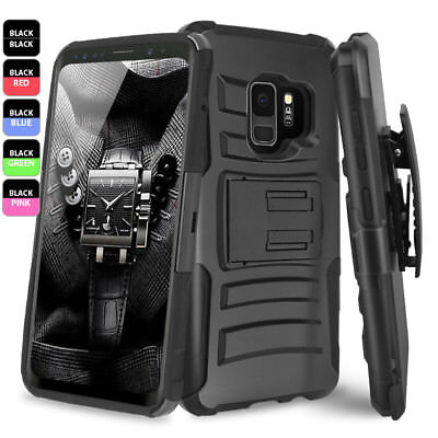 ... Armor Case Belt Clip Holster · Like us on Facebook · Samsung Galaxy S9/S8/Plus/Note 9/8/S7 Edge Rugged