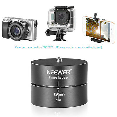 Neewer 360°120 Minutes Rotating Tripod Time Lapse Stabilizer for Gopro Hero 4/3+
