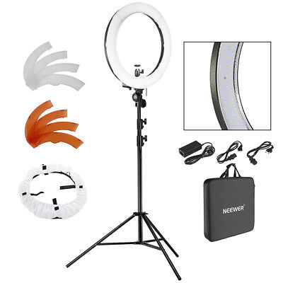 Neewer 240 LED Dimmable SMD Video Ring Light Kit with Light Stand