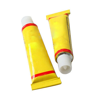 2pcs Bike Glue Rubber Inner Tube Repair Puncture Cold Patch Bicycle sealant S5PG