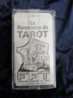 LE RENOUVEAU DU TAROT. French Tarot cards FFT. Vintage cards MINT Sealed Box
