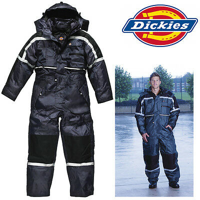 Official Dickies WD003 WATERPROOF coverall padded Mechanics rally suit work wear