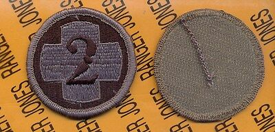 US Army 2nd Medical Brigade ACU uniform patch