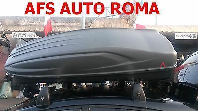 Box Auto Portatutto All-Time 480 Montato Su Barre Originali Lancia Delta 2009