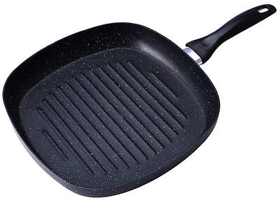 San Ignacio SG-6837 28cm Marble Coated Grill Pan Griddle Frying Pan Non Stick