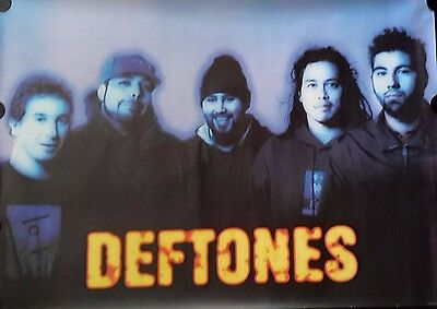 Deftones 1998 Giant Vintage Poster FREE INT SHIPPING