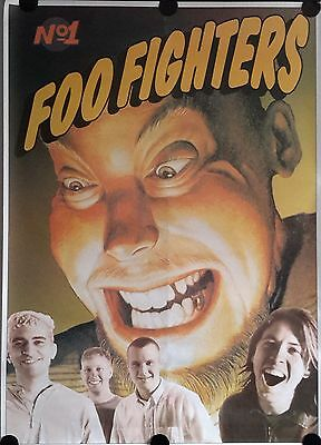 Foo Fighters Giant Orig. Promo Poster FREE INT SHIPPING