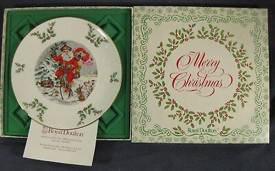 Royal Doulton Victorian Christmas 1982 Old St. Nick Boxed