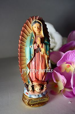 """Our Lady Of Guadalupe Statue Virgin Mary Virgen Maria De Guadalupe Catholic 5"""""""