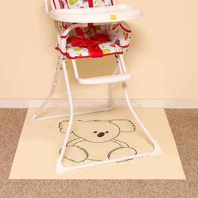 Baby Feeding Splash Mat Waterproof Perfect under highchair Picnic Messy Time UK