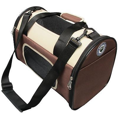 Pet Carrier Premium Travel Carry Bag Accessory Dog Cat Small Pets Cage Crate Car