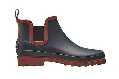Briers Chelsea boots rubber garden ankle wellies claret or blue sizes 4 to 8