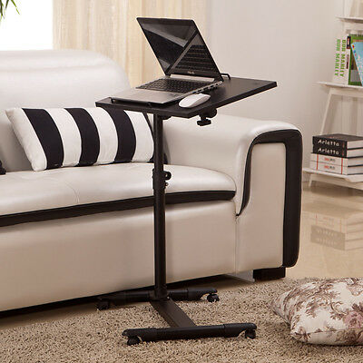 Adjustable Portable Table Desk Stand Sofa Bed Tray For Laptop Computer Notebook