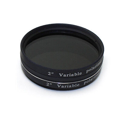 2 Inch Variable Polarizing Filter No3 for telescope astronomic Eyepiece+Tracking