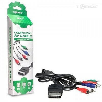 New HD TV Component Composite Audio Video AV Cable Cord for Microsoft Xbox NEW