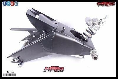 2011 Yamaha YZF-R6 YZF R6 OEM Complete Rear Swing Arm with Shock Absorber