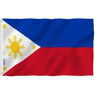 Anley Fly Breeze 3x5 Foot Philippines Flag Filipino Philippine National Flags