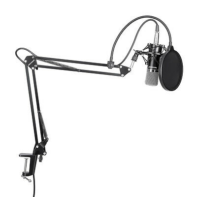 Neewer NW-700 Microphone a Condensateur avec Support pour Studio Radio