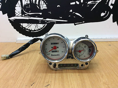 Benelli Velvet 125 250 02 Year Speedo Clock Dash And Wiring