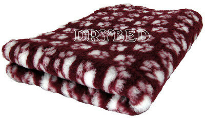Drybed® Antiderapant Lie De Vin Pattes Blanches