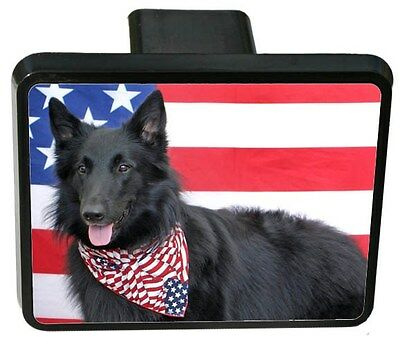 Belgian Sheepdog Trailer Hitch Cover