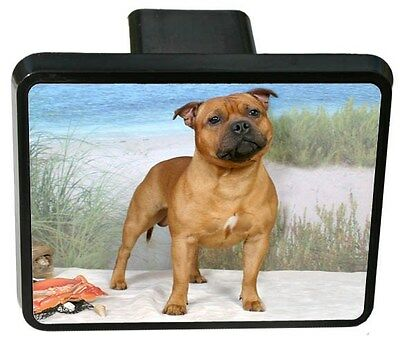 Staffordshire Bull Terrier Trailer Hitch Cover