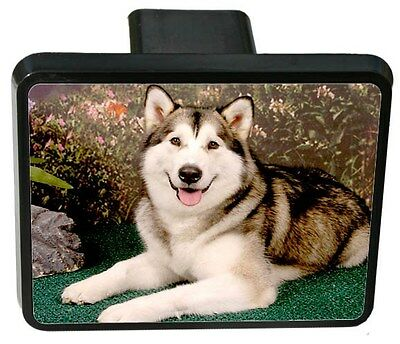 Siberian Husky Trailer Hitch Cover