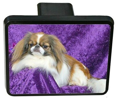 Japanese Chin Trailer Hitch Cover