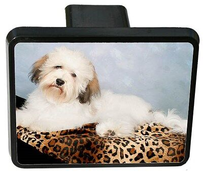 Havanese Trailer Hitch Cover