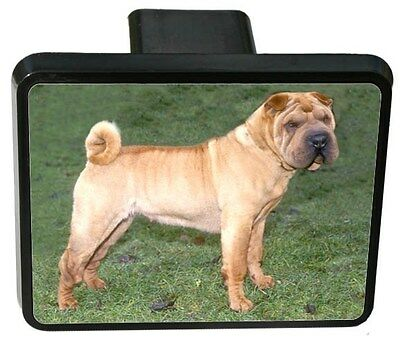 Chinese Shar-Pei Trailer Hitch Cover