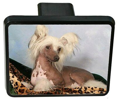 Chinese Crested Trailer Hitch Cover