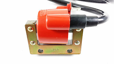 Moped Ignition Coil 6 Volt Universal Application Includes Spark Plug Wire Cap