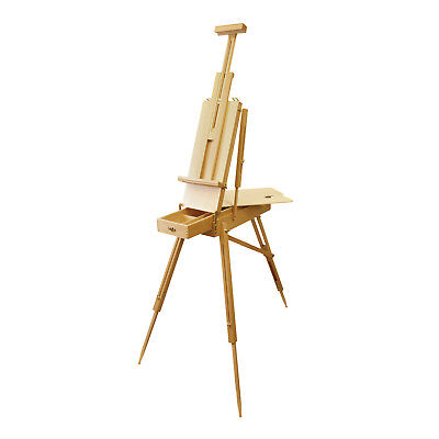 US Art Supply French Easel Artist Plein Air Wood SketchBox Painting Easel