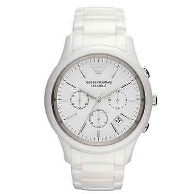 Emporio Armani® watch AR1453 Men`s White Ceramica