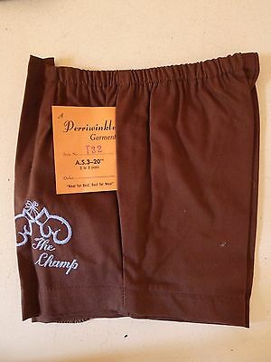 Vintage retro unused true 50s 1 - 2 yo boys toddler shorts tags boxing gloves