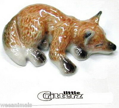 """Little Critterz LC106 """"Sly"""" Fox Pup Figurine"""