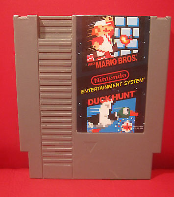 Nintendo Nes - Mario Bros / Duckhunt - Game Cartridge Only ...