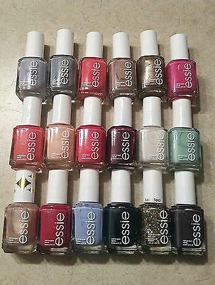 ESSIE nail polish LOT of 18 NEW sealed 18 pieces!