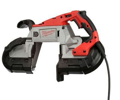 New Durable Heavy Duty 11 Amp Deep Cut AC/DC Corded Portable Band Saw with Case
