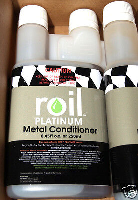 Roil Platinum METAL CONDITIONER 250ml Anti-Friction Engine Lubrication Treatment