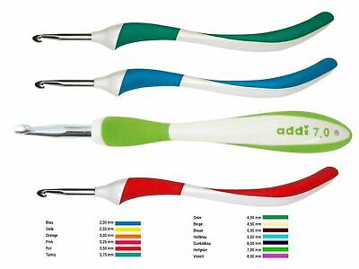 addi-Swing Aluminium Crochet Hook new