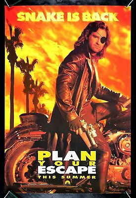 ESCAPE FROM L.A. * CineMasterpieces ORIGINAL MOVIE POSTER MOTORCYCLE 1996