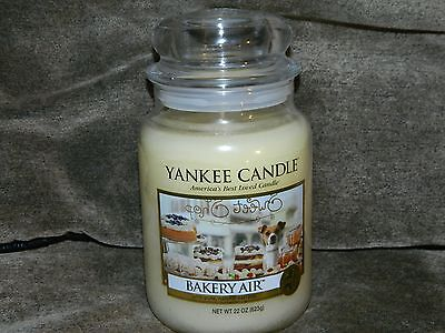 Yankee Candle 22 oz Large Jar Candle  New ---  Bakery Air